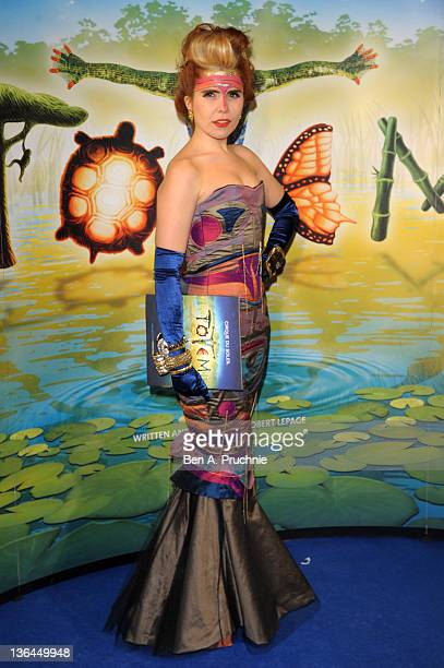 Paloma Faith attends the Cirque du Soleil Totem Premiere at the Royal Albert Hall on January 5 2012 in London England
