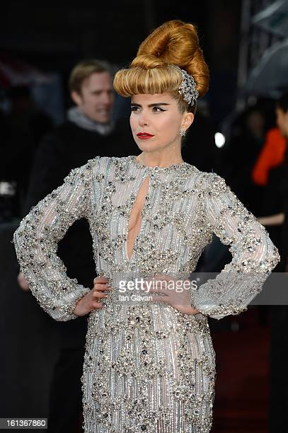 Paloma Faith attends the EE British Academy Film Awards at The Royal Opera House on February 10 2013 in London England