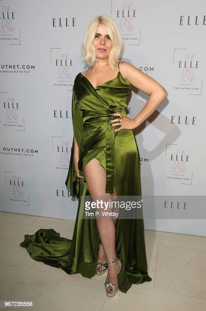 Paloma Faith attends The ELLE List 2018 at Somerset House on June 4 2018 in London England