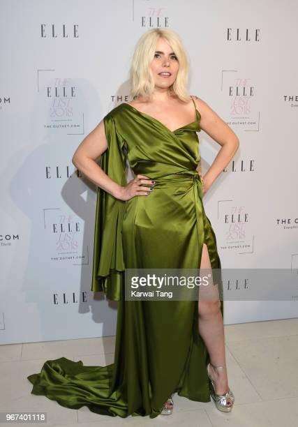 Paloma Faith attends The ELLE List 2018 at Spring at Somerset House on June 4 2018 in London England