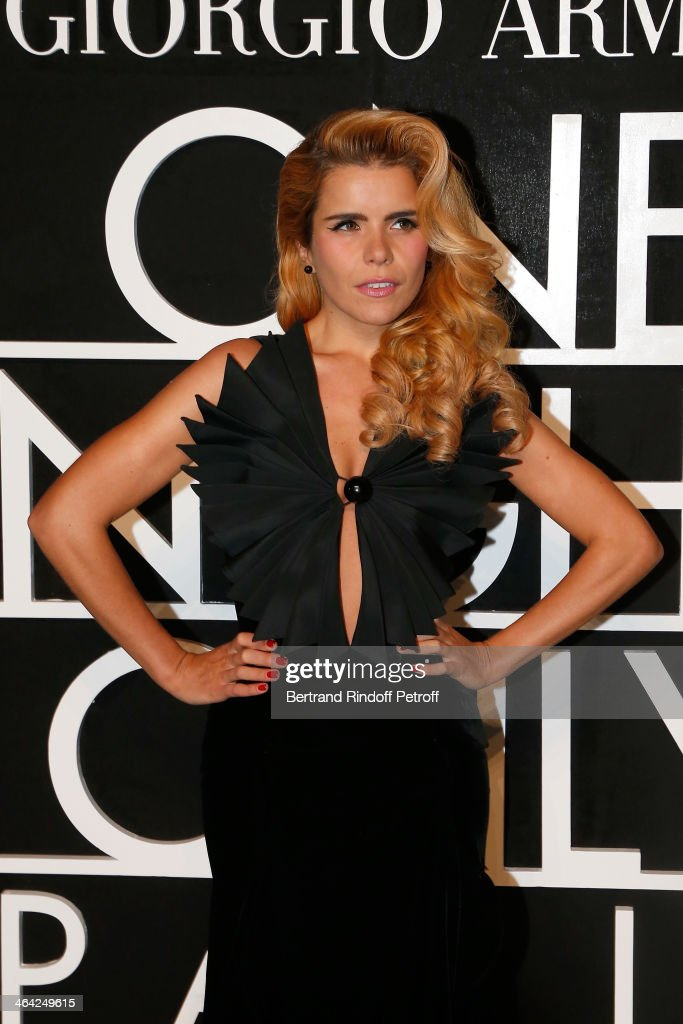 Paloma Faith attends the Giorgio Armani Prive show as part of Paris Fashion Week Haute Couture Spring/Summer 2014 on January 21, 2014 in Paris, France.