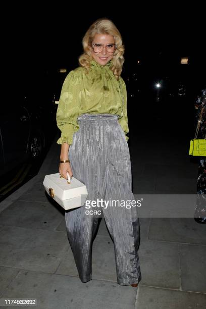 Paloma Faith attends the Grand Opening party at the Standard Hotel in King's Cross during LFW September 2019 on September 13 2019 in London England