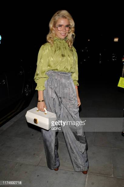 Paloma Faith attends the Grand Opening party at the Standard Hotel in King's Cross during LFW September 2019 on September 13, 2019 in London, England.