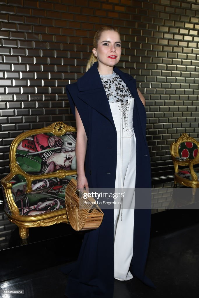 Paloma Faith attends the Jean-Paul Gaultier Haute Couture Spring Summer 2018 show as part of Paris Fashion Week on January 24, 2018 in Paris, France.