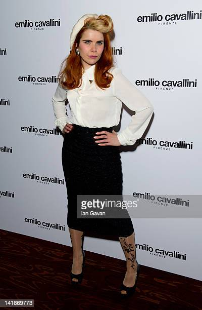 Paloma Faith attends the Launch Party for Emilio Cavallini's new product for men the 'Mantyhose' at Sketch on March 21 2012 in London England