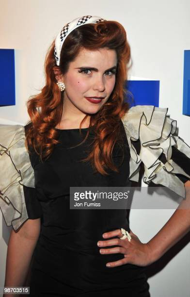 Paloma Faith attends the launch party for Samsung 3D Television at the Saatchi Gallery on April 27 2010 in London England
