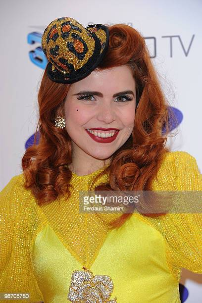 Paloma Faith attends the launch party for Samsung 3D Television at Saatchi Gallery on April 27 2010 in London England