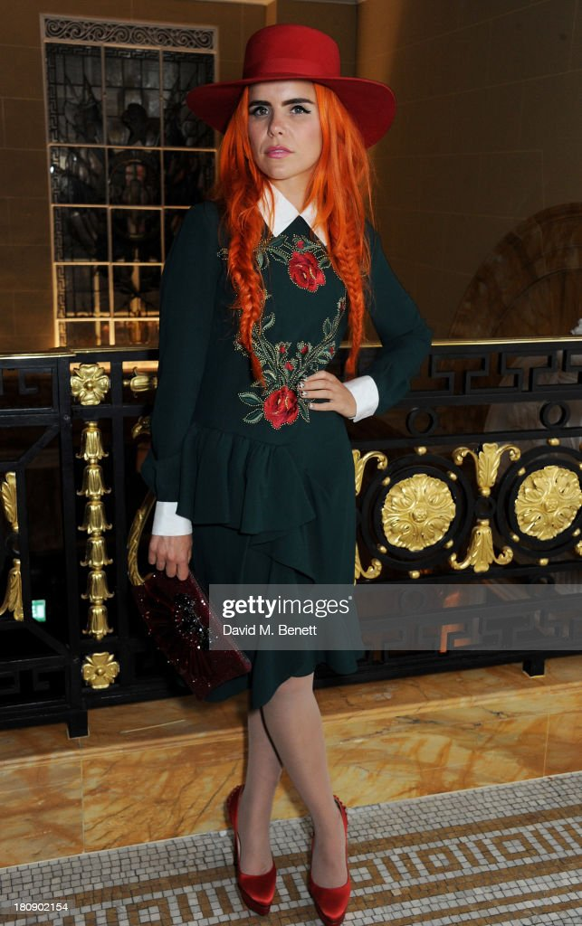 Paloma Faith attends the Marie Claire 25th birthday celebration featuring Icons of Our Time in association with The Outnet at the Cafe Royal Hotel on September 17, 2013 in London, England.