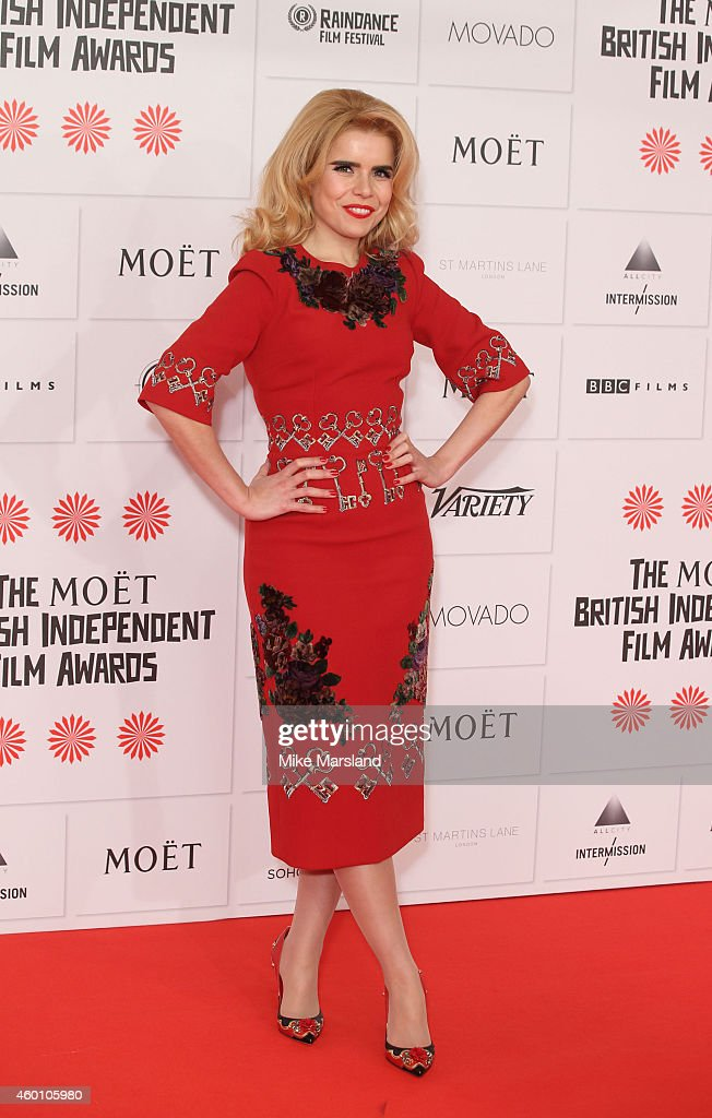 Paloma Faith attends the Moet British Independent Film Awards at Old Billingsgate Market on December 7, 2014 in London, England.