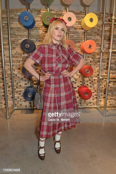 Paloma Faith attends the Mulberry: Made to Last dinner on February 14, 2020 in London, England.