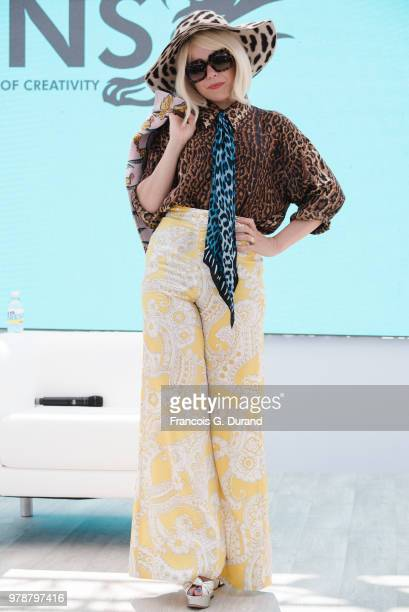 Paloma Faith attends the ÔMusic Motherhood with Jessie Ware Paloma FaithÕ session at the Cannes Lions Festival 2018 on June 19 2018 in Cannes France