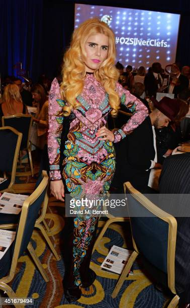 Paloma Faith attends the Nordoff Robbins 02 Silver Clef awards at the London Hilton on July 4, 2014 in London, England.