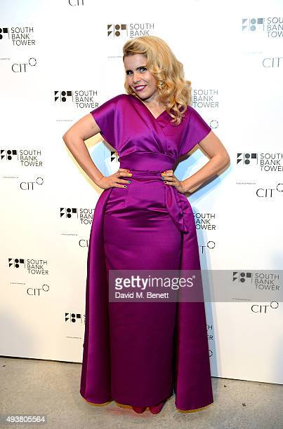 Paloma Faith attends the opening of new landmark 41storey development South Bank Tower with an exclusive event in the penthouse complete with a...