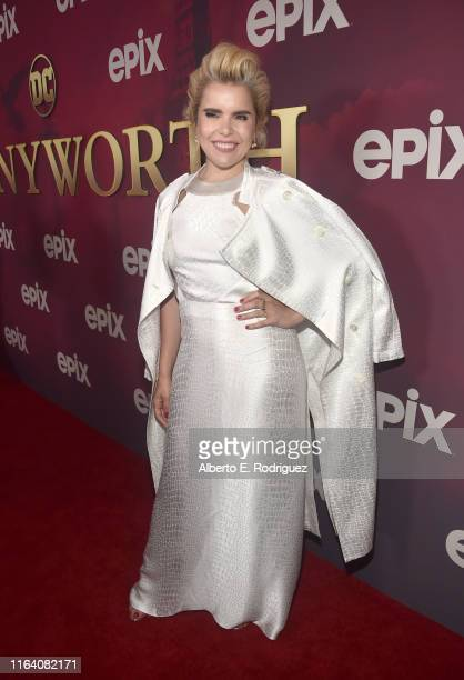 Paloma Faith attends the premiere of Epix's Pennyworth at Harmony Gold on July 24 2019 in Los Angeles California