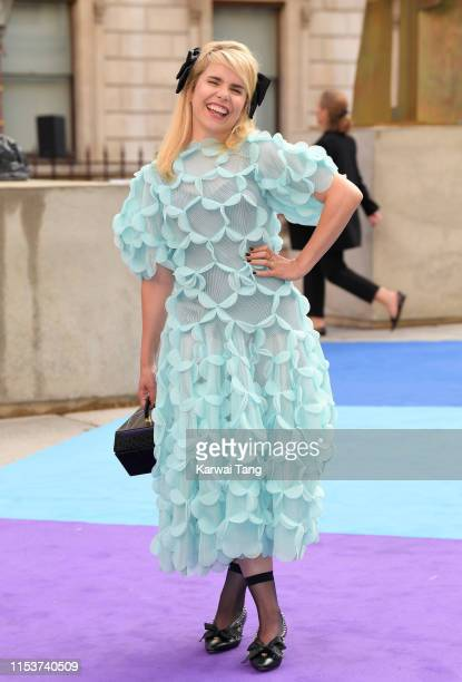 Paloma Faith attends the Royal Academy of Arts Summer exhibition preview at Royal Academy of Arts on June 04, 2019 in London, England.