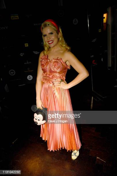 Paloma Faith attends the Sony Music BRIT awards after party at aqua shard on February 20 2019 in London England