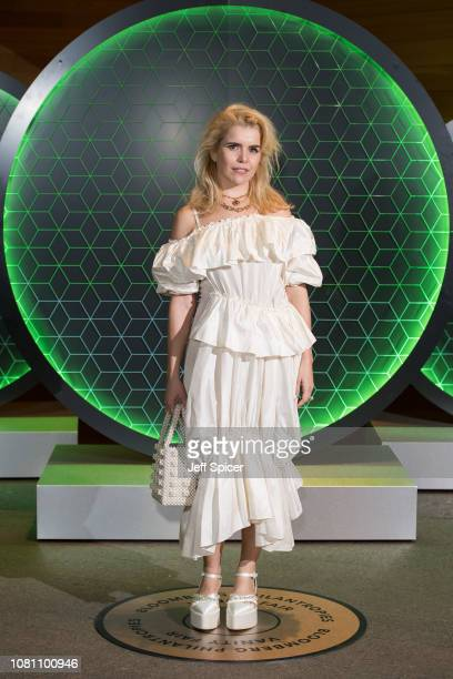Paloma Faith attends the Vanity Fair x Bloomberg climate change gala dinner at Bloomberg London on December 11 2018 in London England