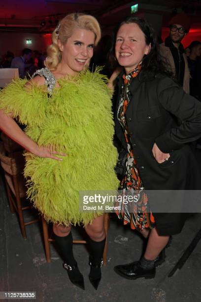 Paloma Faith Katie Grand and Leyman Lahcine attend the LOVE x The Store X party celebrating LOVE issue 21 supported by Perrier Jouet at The Store X...