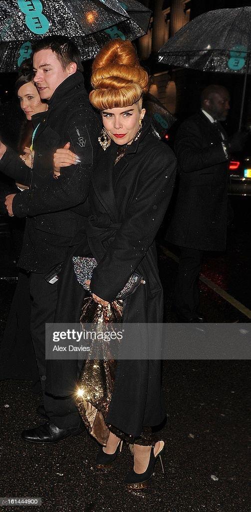 Paloma Faith on February 10, 2013 in London, England.