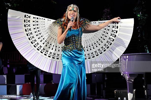 Paloma Faith performs at Hammersmith Apollo on November 8 2010 in London England