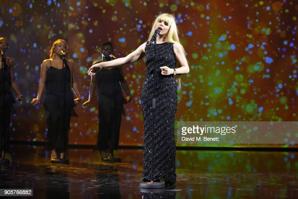 Paloma Faith performs at the IWC Schaffhausen Gala celebrating the Maison's 150th anniversary and the launch of its Jubilee Collection at the Salon...