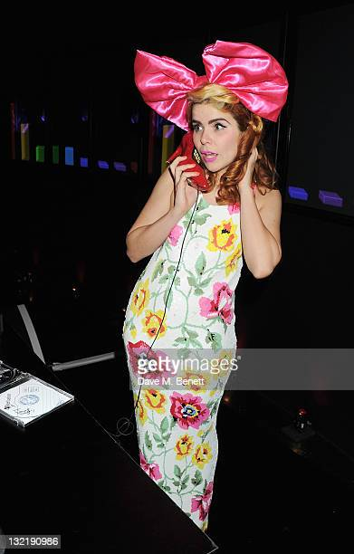 Paloma Faith performs at the Virgin Media Shorts Awards Ceremony 2011 at BFI Southbank on November 10 2011 in London England