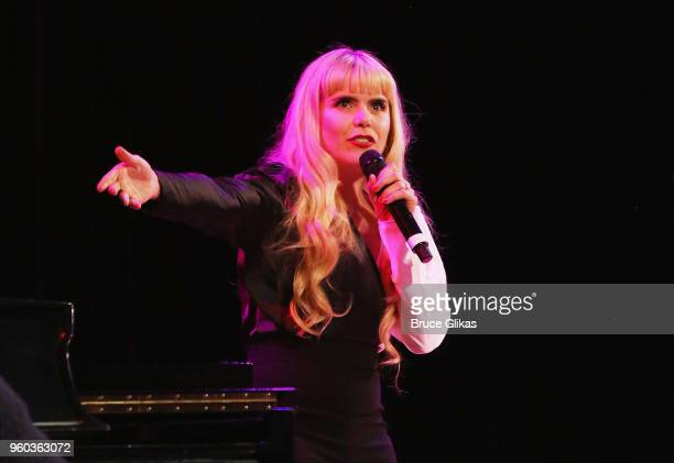 Paloma Faith performs in the New York debut of the hit show 'Letters Live' at Town Hall on May 19 2018 in New York City