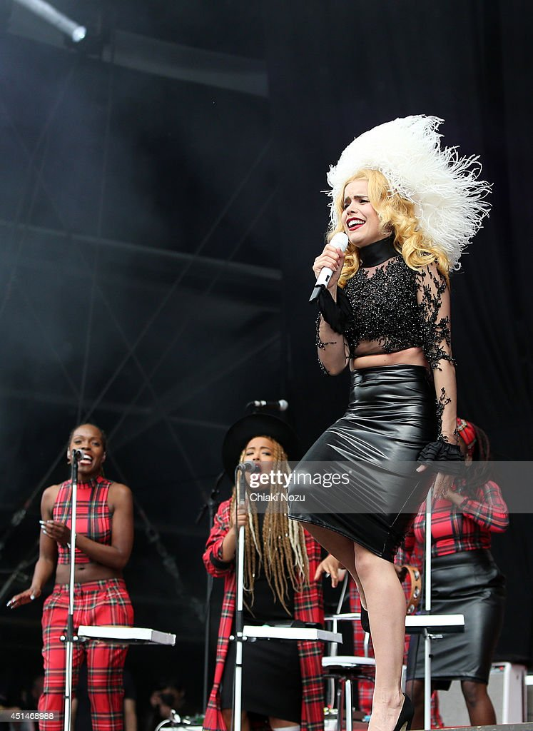 Paloma Faith performs on Day 2 of the Calling Festival at Clapham Common on June 29, 2014 in London, England.