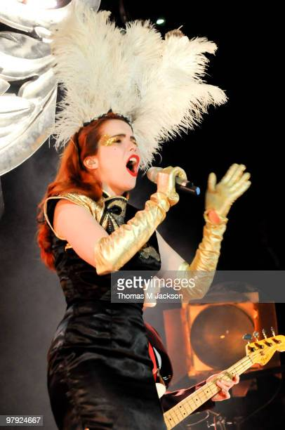 Paloma Faith performs on stage at O2 Academy on March 21, 2010 in Newcastle upon Tyne, England.