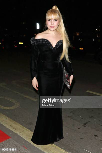Paloma Faith seen at the Vogue and Tiffany Co party at Annabel's club after attending the EE British Academy Film Awards at the Royal Albert Hall on...