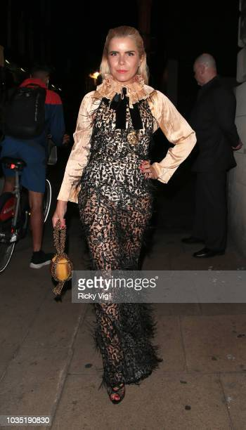 Paloma Faith seen attending LOVE Magazine party at No 5 Hertford Street during London Fashion Week September 2018 on September 17 2018 in London...