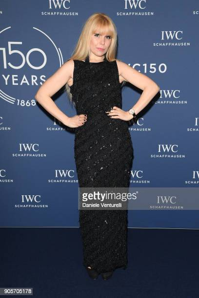 Paloma Faith walks the red carpet for IWC Schaffhausen at SIHH 2018 on January 16 2018 in Geneva Switzerland