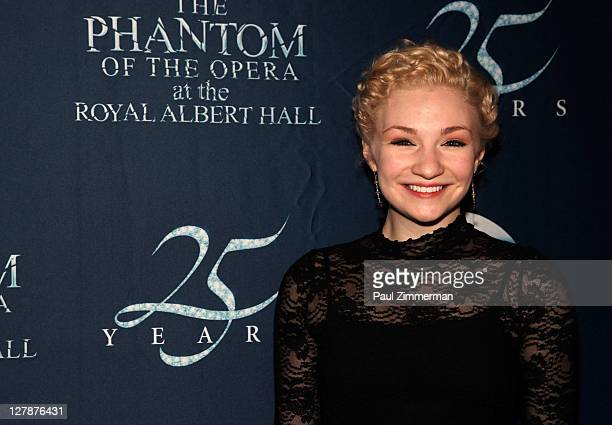 Paloma Garcia Lee attends the Phantom of the Opera 25th Anniversary celebration at the Ziegfeld Theatre on October 2 2011 in New York City