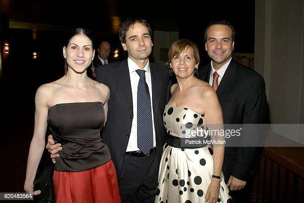Paloma Herrera Fernando Aldazabal Adrienne Arscht and Jorge Plasencia attend AMERICAN BALLET THEATRE Celebrates Noche Latina at Metropolitan Opera...