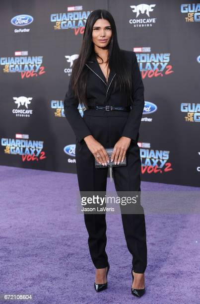 """Paloma Jimenez attends the premiere of """"Guardians of the Galaxy Vol. 2"""" at Dolby Theatre on April 19, 2017 in Hollywood, California."""