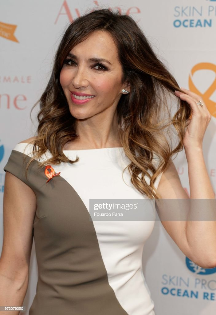 Paloma Lago attends the 'Avene support skin cancer prevencion' event at UnoNueve space on June 13, 2018 in Madrid, Spain.