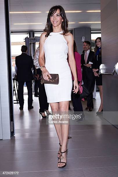 Paloma Lago attends the 'Rey de Espan' and 'Don Quijote' journalism awards 2015 at 'Casa del Libro' on May 7 2015 in Madrid Spain