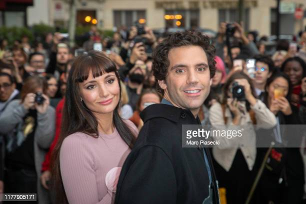Paloma Penniman and singer Mika attend the Valentino Womenswear Spring/Summer 2020 show as part of Paris Fashion Week on September 29, 2019 in Paris,...
