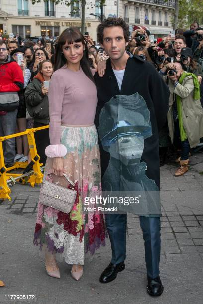 Paloma Penniman and singer Mika attend the Valentino Womenswear Spring/Summer 2020 show as part of Paris Fashion Week on September 29 2019 in Paris...
