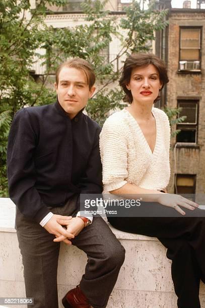 Paloma Picasso and Rafael Sanchez circa 1979 in New York City