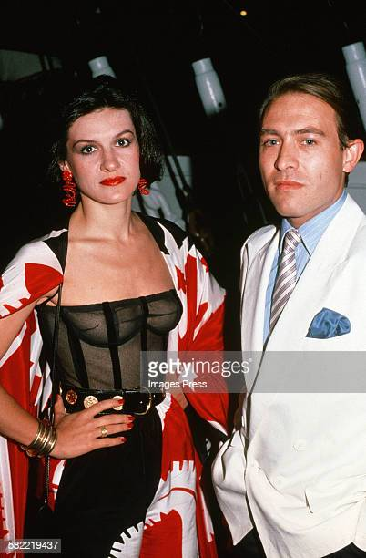 Paloma Picasso and Rafael Sanchez circa 1980 in New York City.