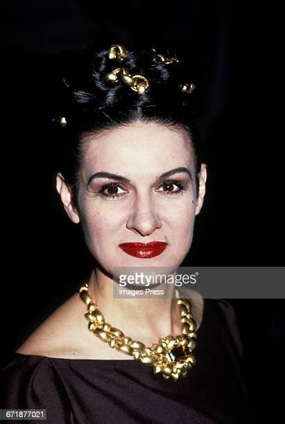 Paloma Picasso circa 1992 in New York City.