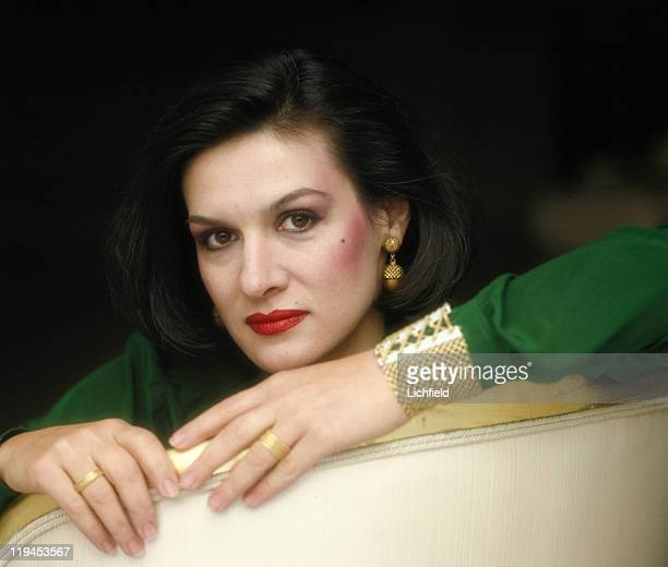 Paloma Picasso Fashion and jewellery designer Paris France 6th January 1981