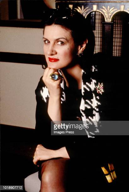 Paloma Picasso of the Eurythmics circa 1990 in New York.