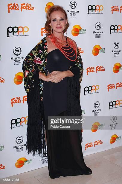 Paloma San Basilio attends Folli Follie Excelence Awards 2014 on May 5 2014 in Madrid Spain