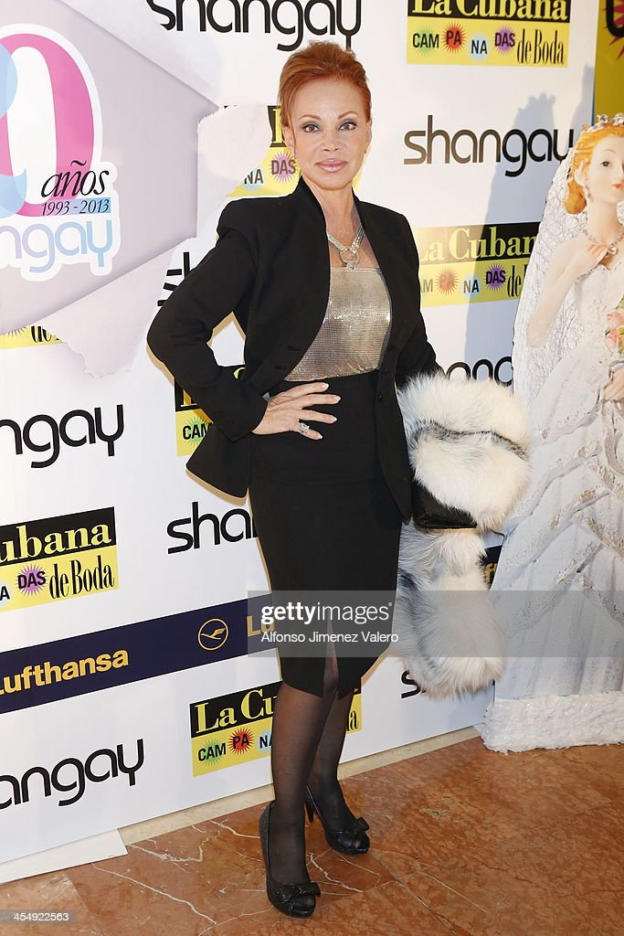 Paloma San Basilio attends Shangay Magazine 20th Anniversary in Madrid at teatro Nuevo Alcala on December 10, 2013 in Madrid, Spain.