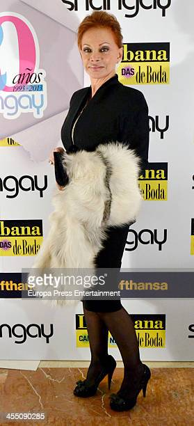 Paloma San Basilio attends Shangay Magazine 20th Anniversary on December 10 2013 in Madrid Spain