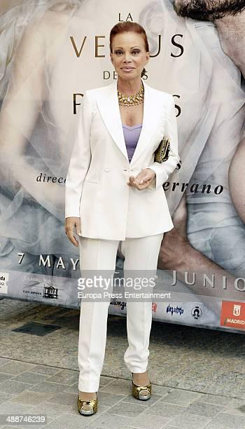 Paloma San Basilio attends the 'La Venus de las Pieles' premiere photocall on May 7 2014 in Madrid Spain