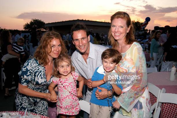 Paloma Schlachet David Schlachet Lara Schlachet and young guests attend 22nd Annual Southampton Fresh Air Home American Picnic at Private Residence...