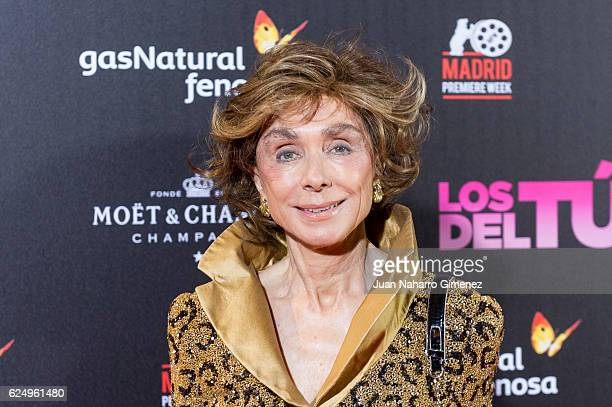 Paloma Segrelles attends 'Los Del Tunel' premiere during the Madrid Premiere Week at Callao Cinema on November 21 2016 in Madrid Spain